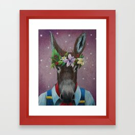 Bottom Framed Art Print