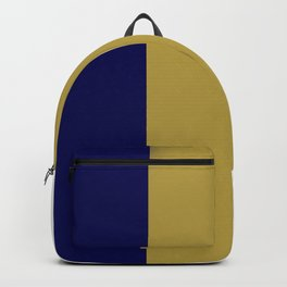 Team Colors 7.....navy, gold Backpack