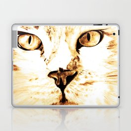 Cat with an attitude Laptop & iPad Skin