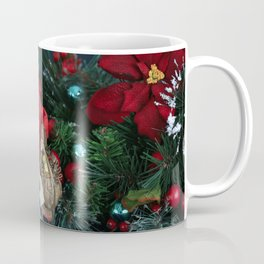 The Night Before Christmas. Santa Claus Arriving with Chistmas Gifts Coffee Mug