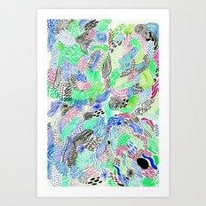 analogic Art Print