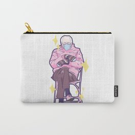 Bernie Sitting In A Chair Carry-All Pouch