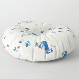 Bondi Brellas Floor Pillow