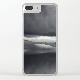 BeinG theRe Clear iPhone Case