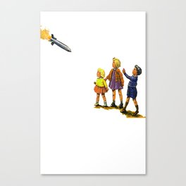 Look! Canvas Print