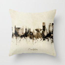 Bratislava Slovakia Skyline Throw Pillow