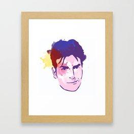 CharlieSheen Framed Art Print