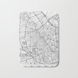 Tianjin Map Line Bath Mat