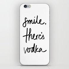 Smile - Vodka iPhone & iPod Skin