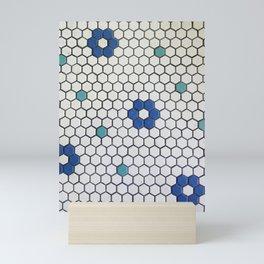 Historic Hexagons Mini Art Print