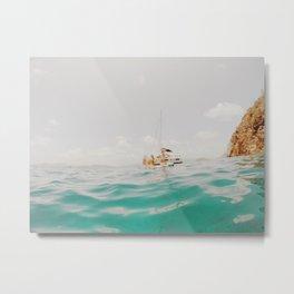 Turquoise Water  Metal Print