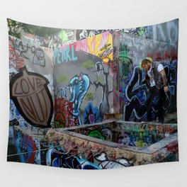 Tagged Wall Tapestry