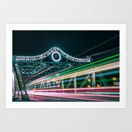 Queen Street East Art Print