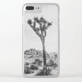 JOSHUA TREE XVII / California Clear iPhone Case