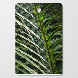 Forest Floor Frond Cutting Board