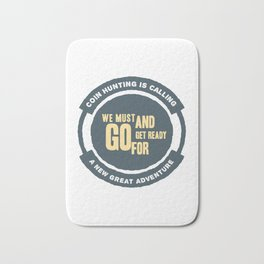 Numismatic Coin Collector Enthusiasts Design Bath Mat