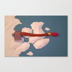 Axe Canvas Print