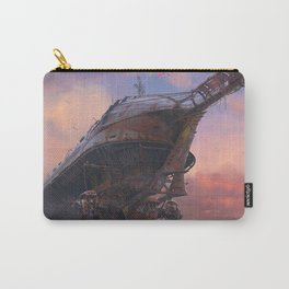 Space Ship in Fallout Video game Carry-All Pouch