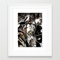 gandalf Framed Art Prints featuring Gandalf by Patrick Scullin