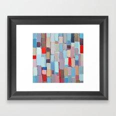Internodal Stalks Framed Art Print