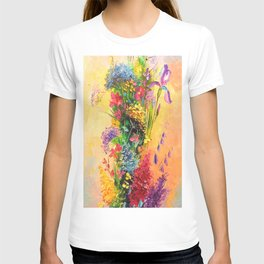 A bouquet of beautiful wildflowers T-shirt