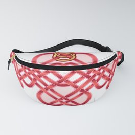 Satin Love Knot Fanny Pack
