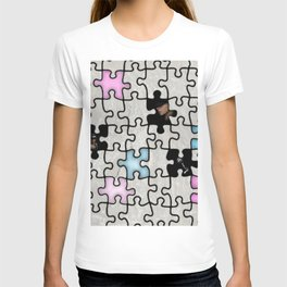 women and puzzle -1- T-shirt