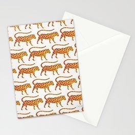 Jaguar Pattern Stationery Cards