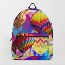 Colored Balloons. Backpack