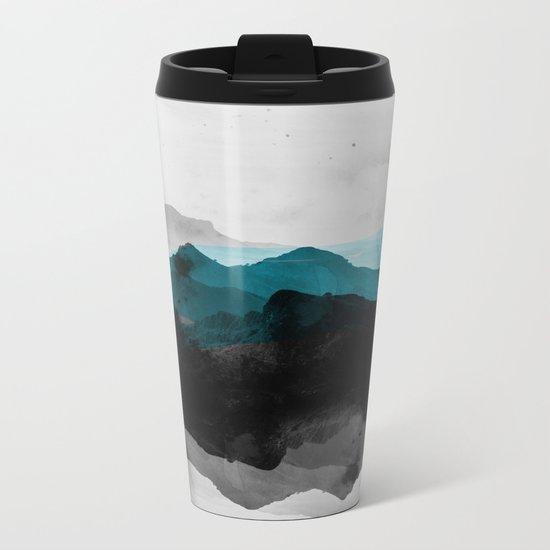 nature montains landscape Metal Travel Mug