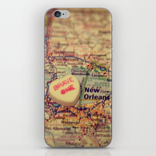 Brave One New Orleans iPhone & iPod Skin