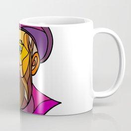 Old Portuguese Explorer Mosaic Color Coffee Mug
