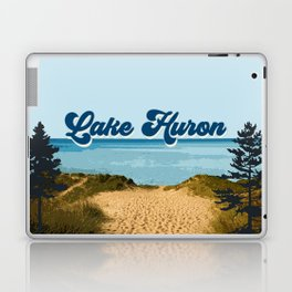 Lake Huron Retro Laptop & iPad Skin