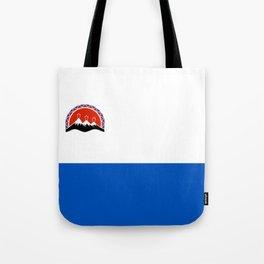 kamchatka flag Tote Bag
