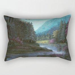 Mountain Valley Rectangular Pillow