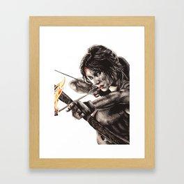 Lara Croft (Tomb Raider) Framed Art Print