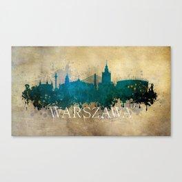 Warszawa Canvas Print