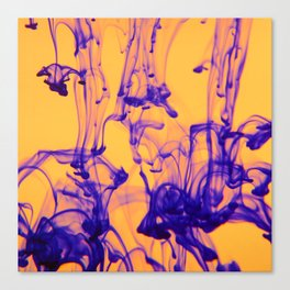 Contrasting Quiet Canvas Print