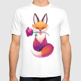 The Fox and the Rose Garden T-shirt