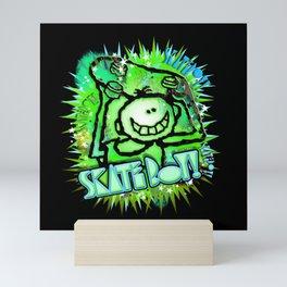 Skate Boy Graffity 1 Mini Art Print