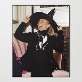 HILL WITCH Canvas Print