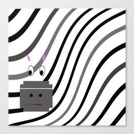 Zane the Zebra Canvas Print