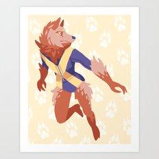 Wolfsbane Art Print