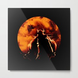 zangetsu full moon Metal Print