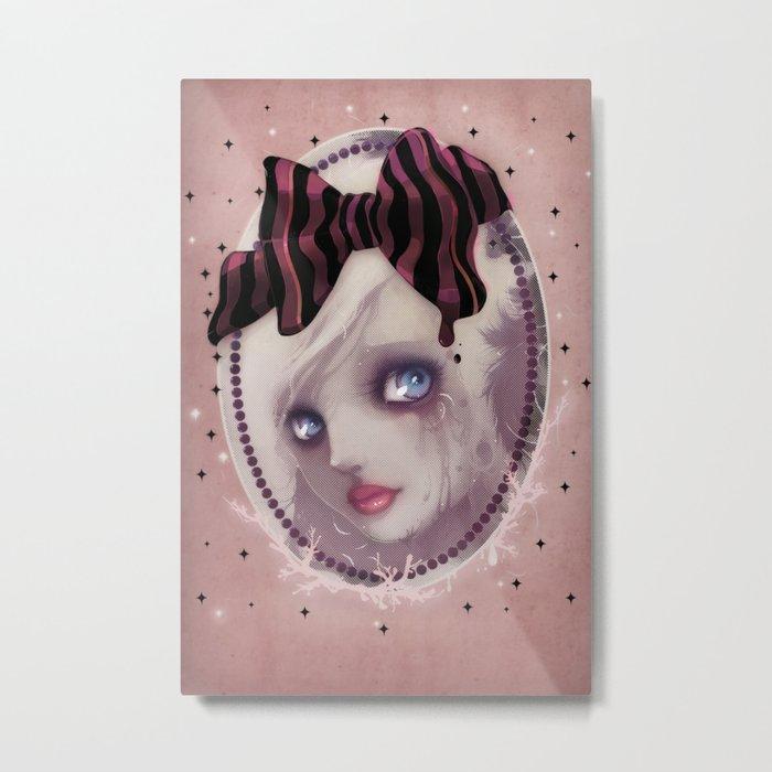 Mascara(de) Metal Print