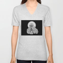 praying for death Unisex V-Neck
