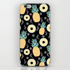Black Pineapple iPhone & iPod Skin