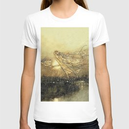 """Fairies in Kensington Gardens"" by Arthur Rackham T-shirt"