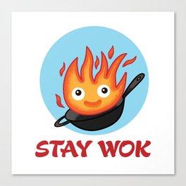 Stay Wok Canvas Print
