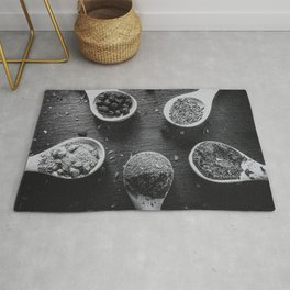 Spices. Rug